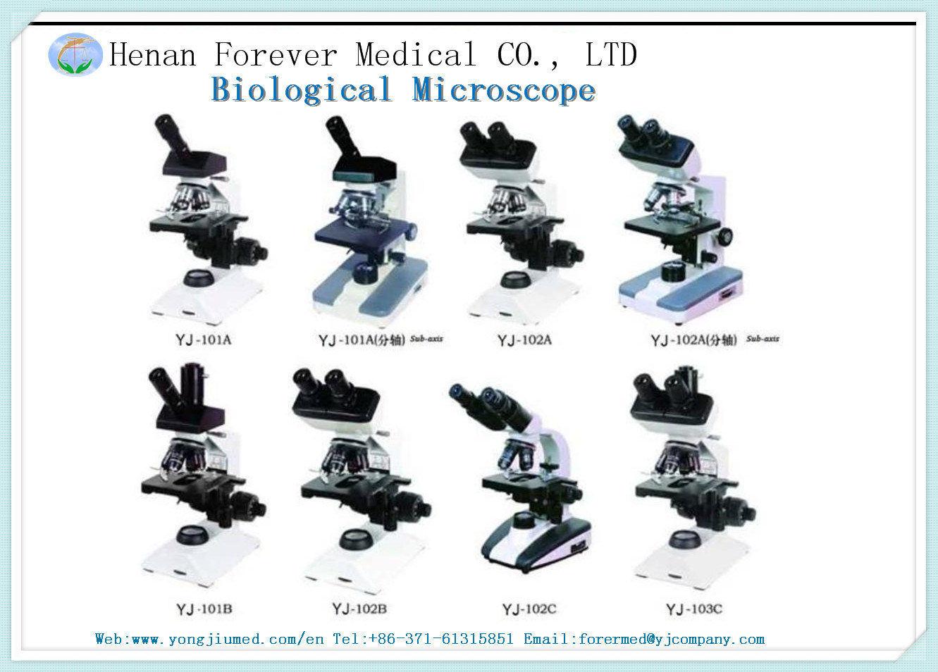 Professional Inverted Biological Microscope Equipment