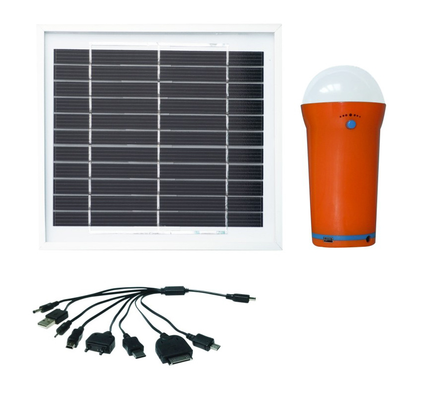 1.5W Rechargeable Solar LED Home Light with Flashlight