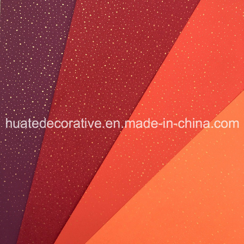 Gold Metallic Melamine Decorative Paper for Laminate with Fantastic Design and Various Color
