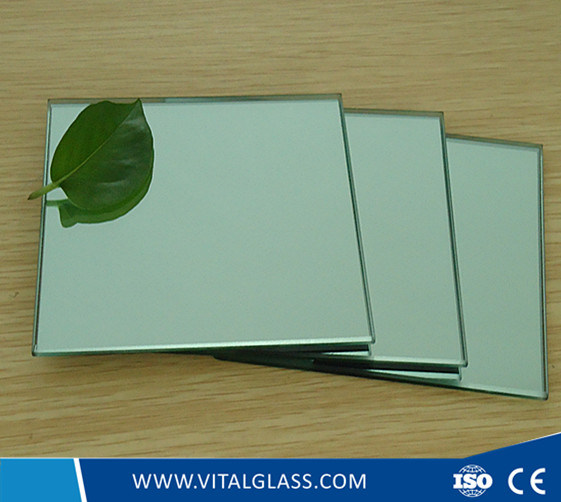 Silver/Aluminum Mirror for Bathroom Mirror Glass Decorative Mirror (S-M)