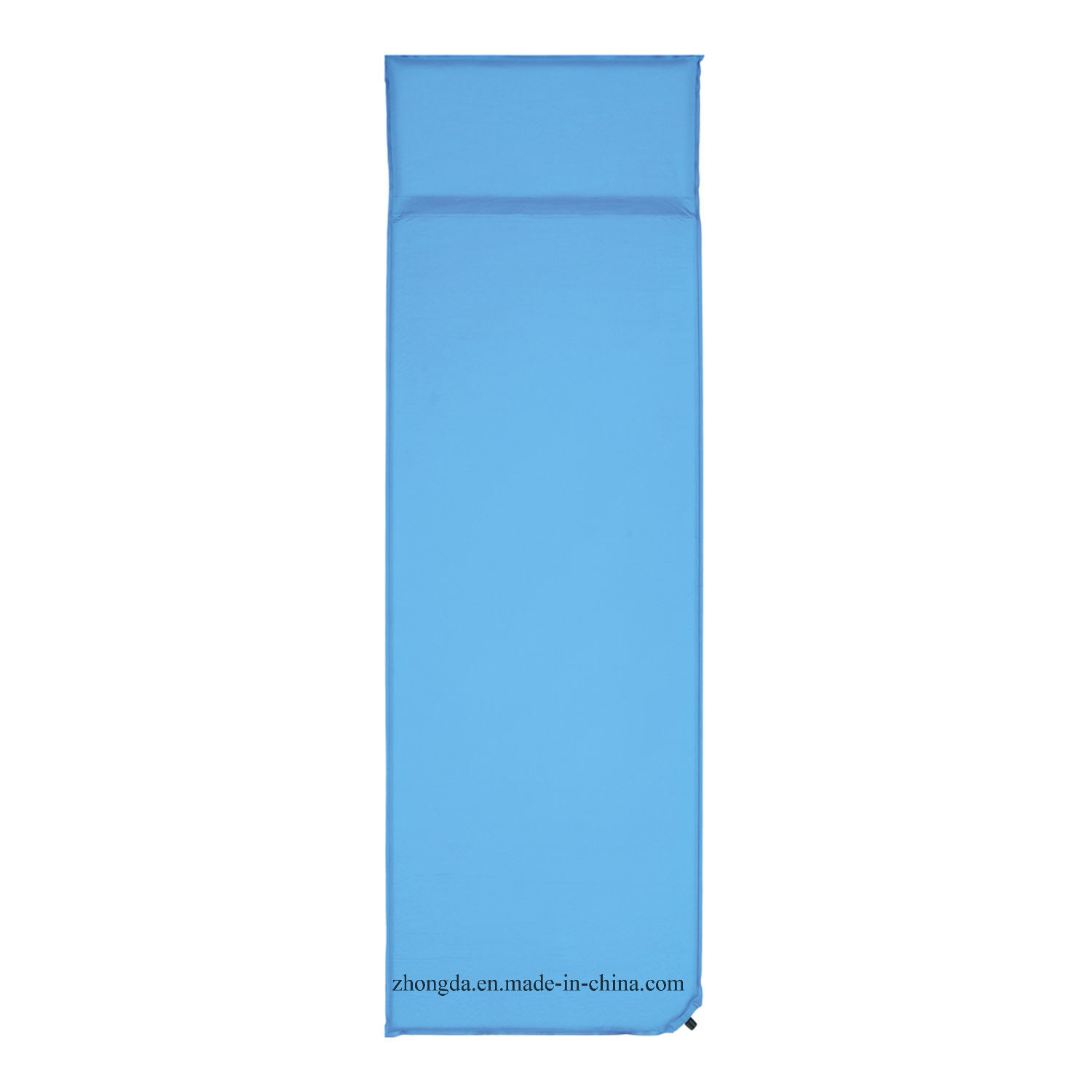 Single Comfortable Sleeping Pad with Integrated Pillow