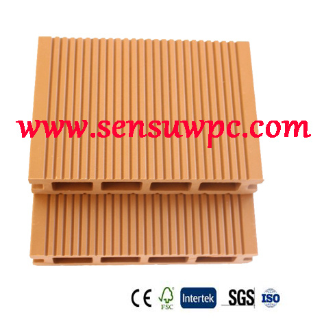 Sensu Brand WPC Decking with Wood Plastic Composite Materials /Outdoor Flooring