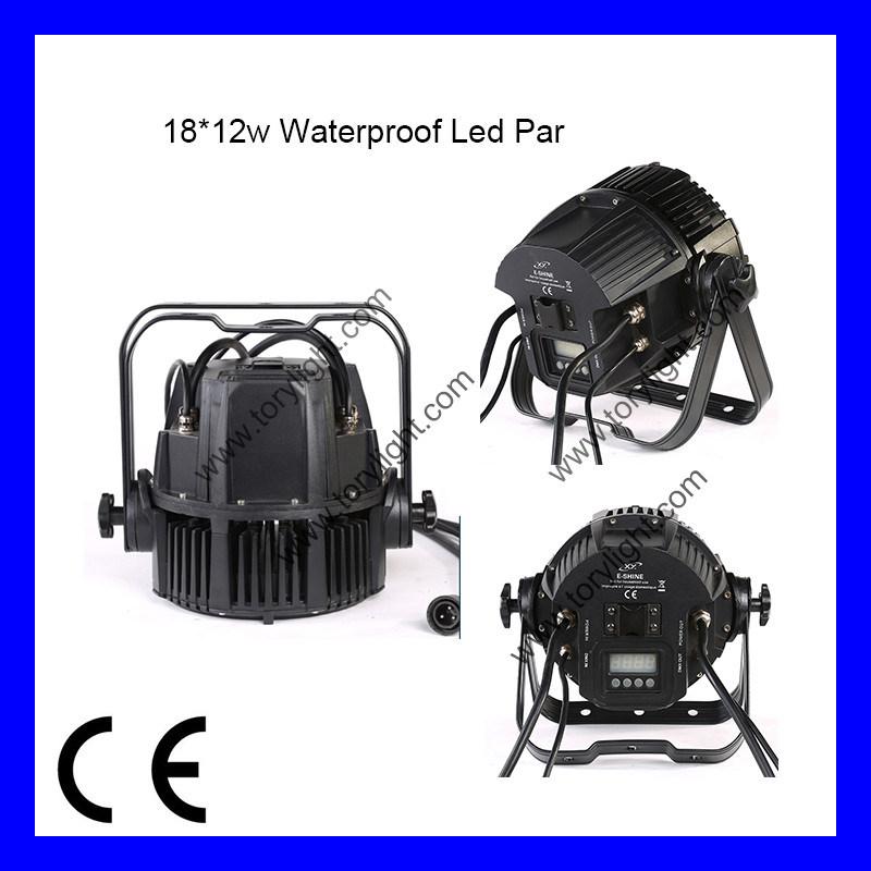 Outdoor LED PAR 18PCS*12W RGBW PAR