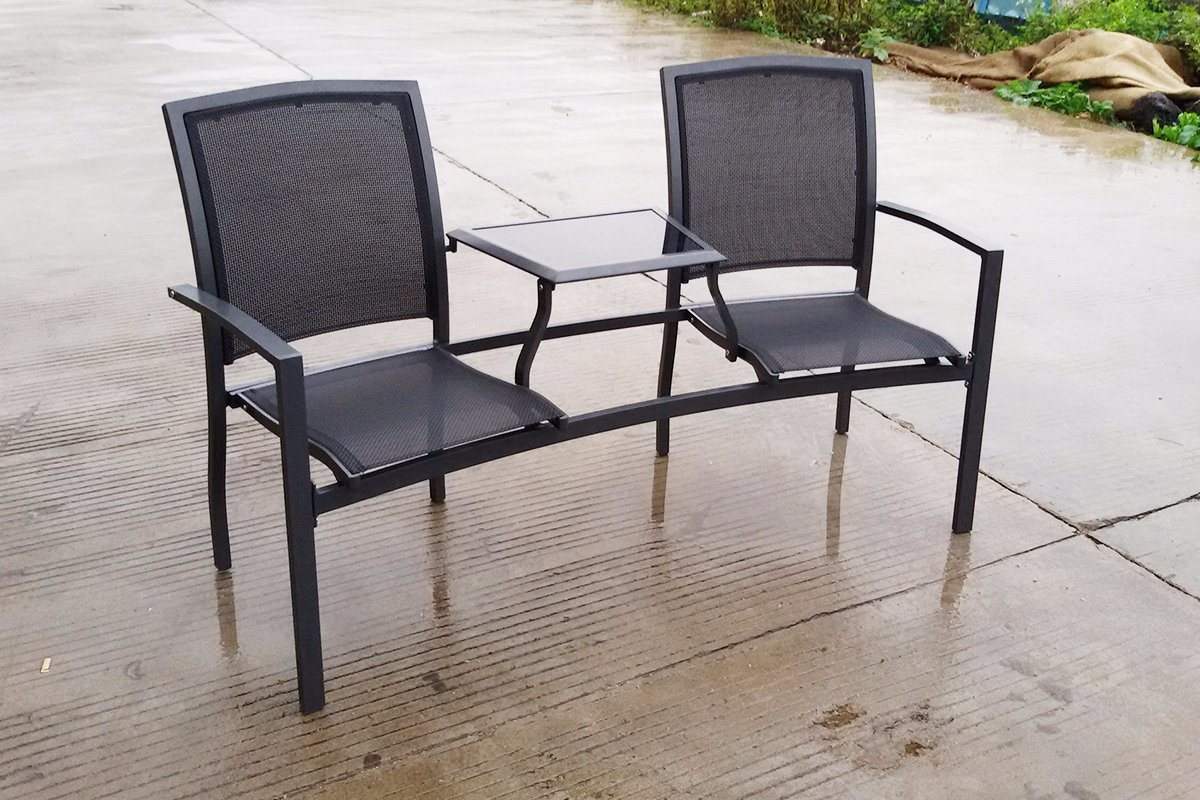 Outdoor Patio Furniture Premier Monoca Dining Set Chairs Table (JT659)