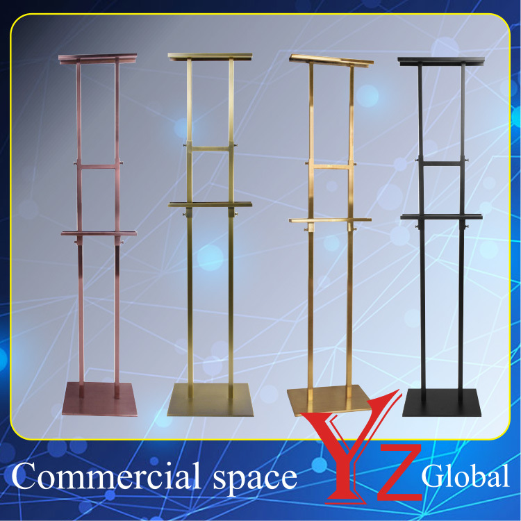 Poster Stand (YZ161503) Display Stand Sign Board Exhibition Stand Promotion Poster Frame Banner Stand Poster Board Store Stand Stainless Steel