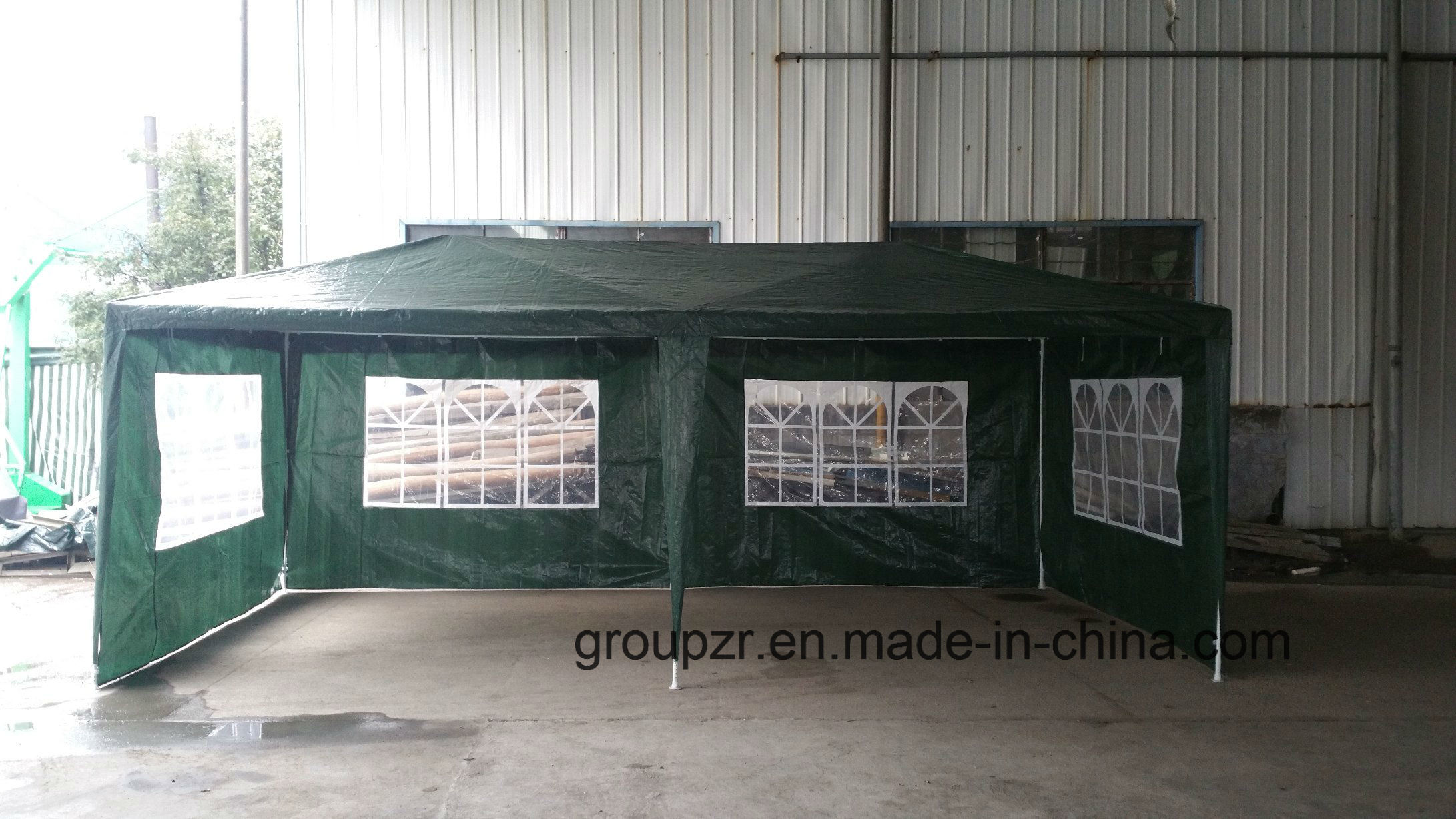 10X20 Assembly Steel Gazebo Party Tent Outdoor Canopy
