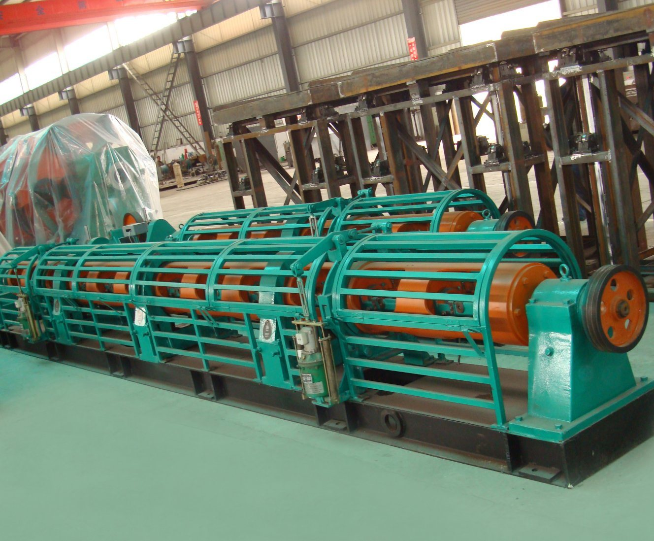 Jlg Tubular Stranding Machine, Different Supporting Type