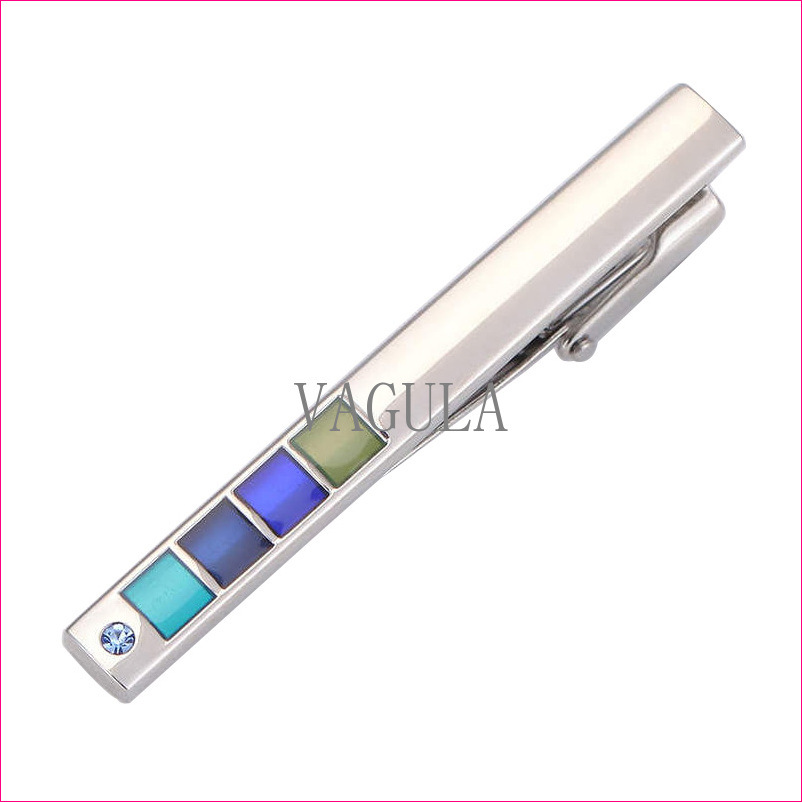 VAGULA New Arrival De Corbata Silver Tie Bar Quality Tie Pin Wholesale Tie Clip 69