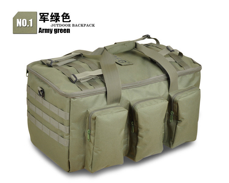 Large Size Waterproof Hiking Tactical Military Bionic Outdoor Shoulder Package Backpack