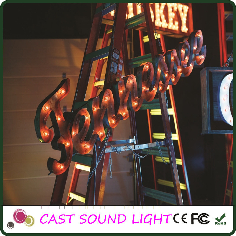 Fashion LED Marquee Letter Sign Christmas Lighting