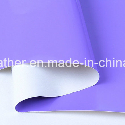 Mirror Patent Synthetic PU Leather for Ladies Shoes Hw-S1704