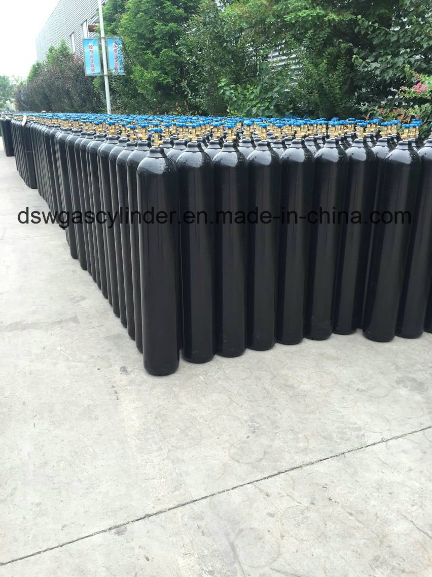 High Purity 40 Lt Seamless Steel Cylinder 99.999% Argon Gas