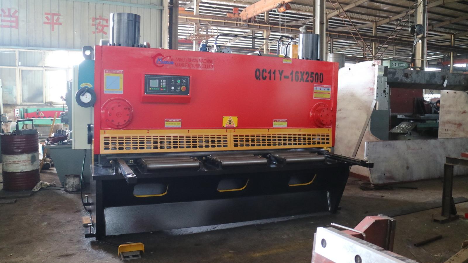 Hydraulic Guillotine Shearing Machine for Metal, Cutting Machine QC11k 16*2500