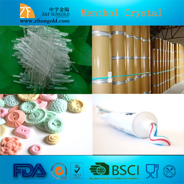 High Quality 99% Natural Menthol Crystal
