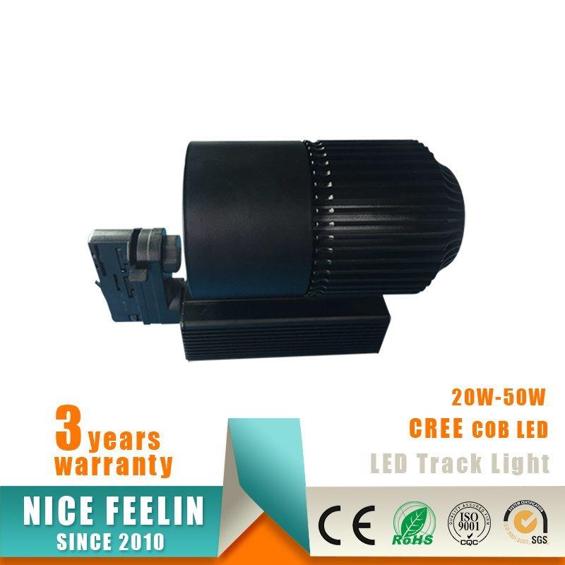 High Power 40W CREE COB LED Track Lighting Lamp