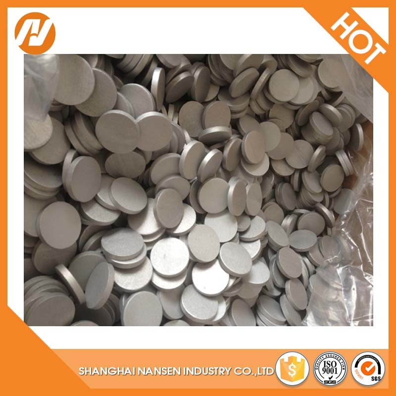 Purity Alloy 1070 Purity 99.7% Manufacture Shot Blasting Surface Flat Aluminium Slugs