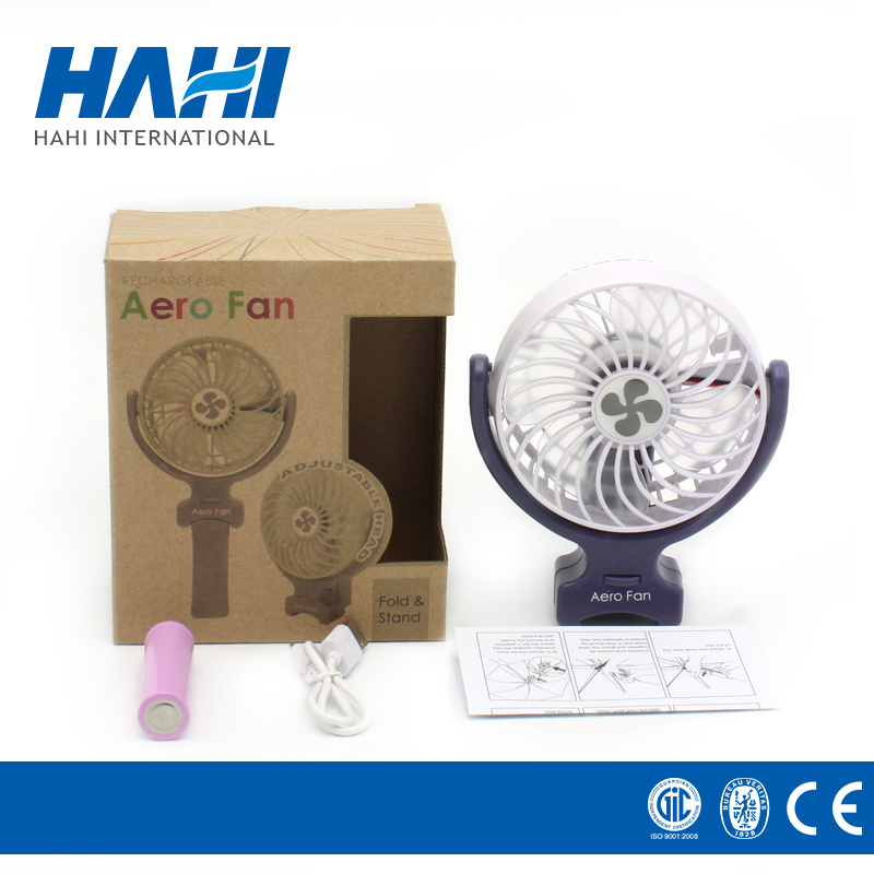 Hot Sale Battery Operated Silent Mini Desk Fan for Kids