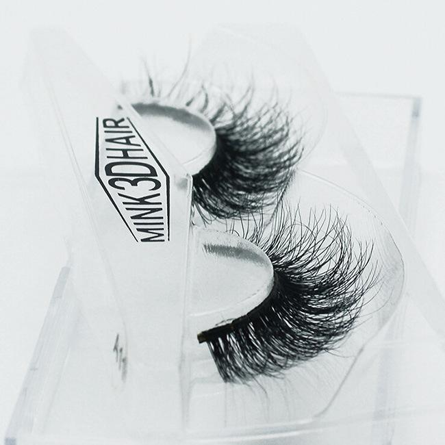 Hot Sale 3D Luxurious 100% Mink Hair Lashes Sexy Multi-Layer False Eyelashes