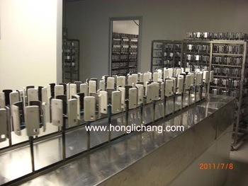 Robot Automatic UV Coating Spray Paint Production Line