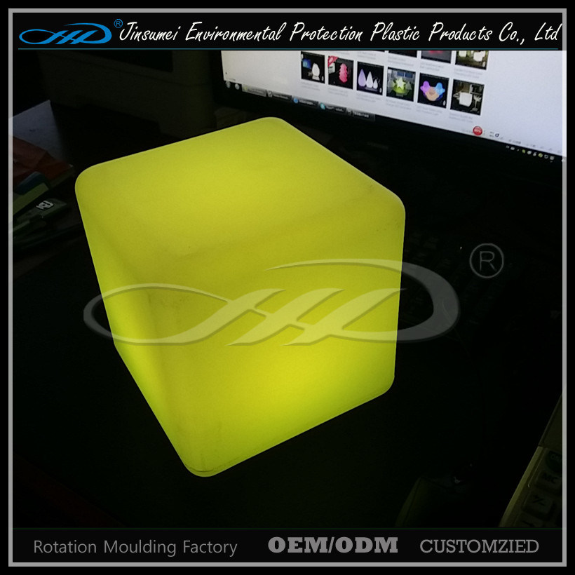 Direct Rechargeable Rechargeable Plastic Color LED Table and Chair