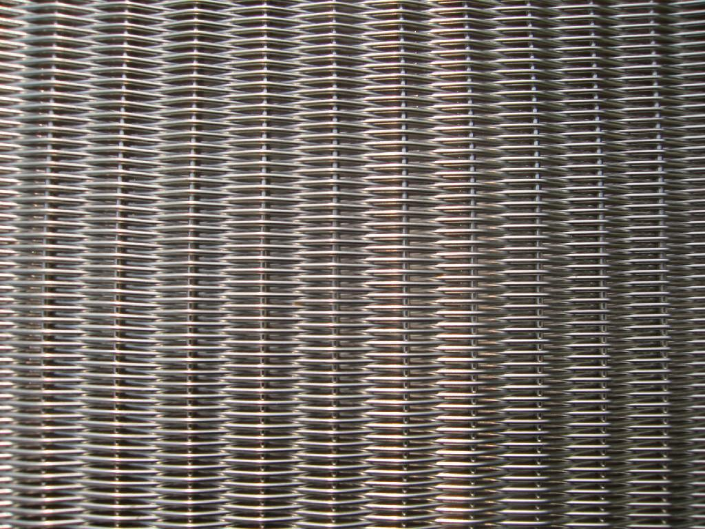 Contrast Weaving Stainless Steel Dutch Wire Twill Mesh
