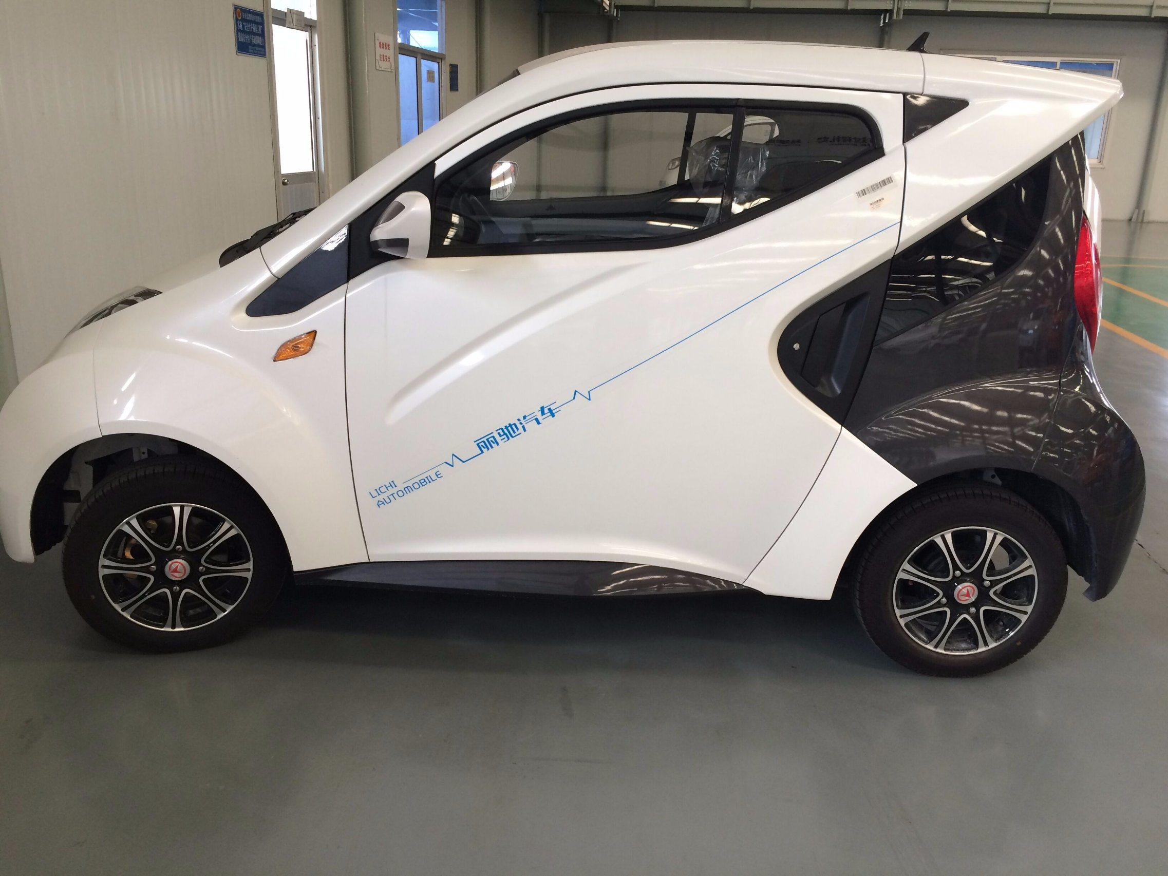 2 Seats Low Speed Electric City Cars with EEC/DOT Certificate