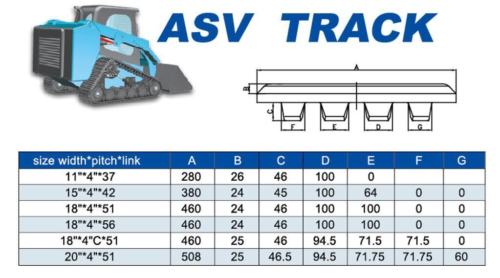 PT Tracks Asv Rubber Tracks