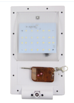 24 LED Super Bright Solar Lamp Light LED with Remote Control Function SL1-1-24-R