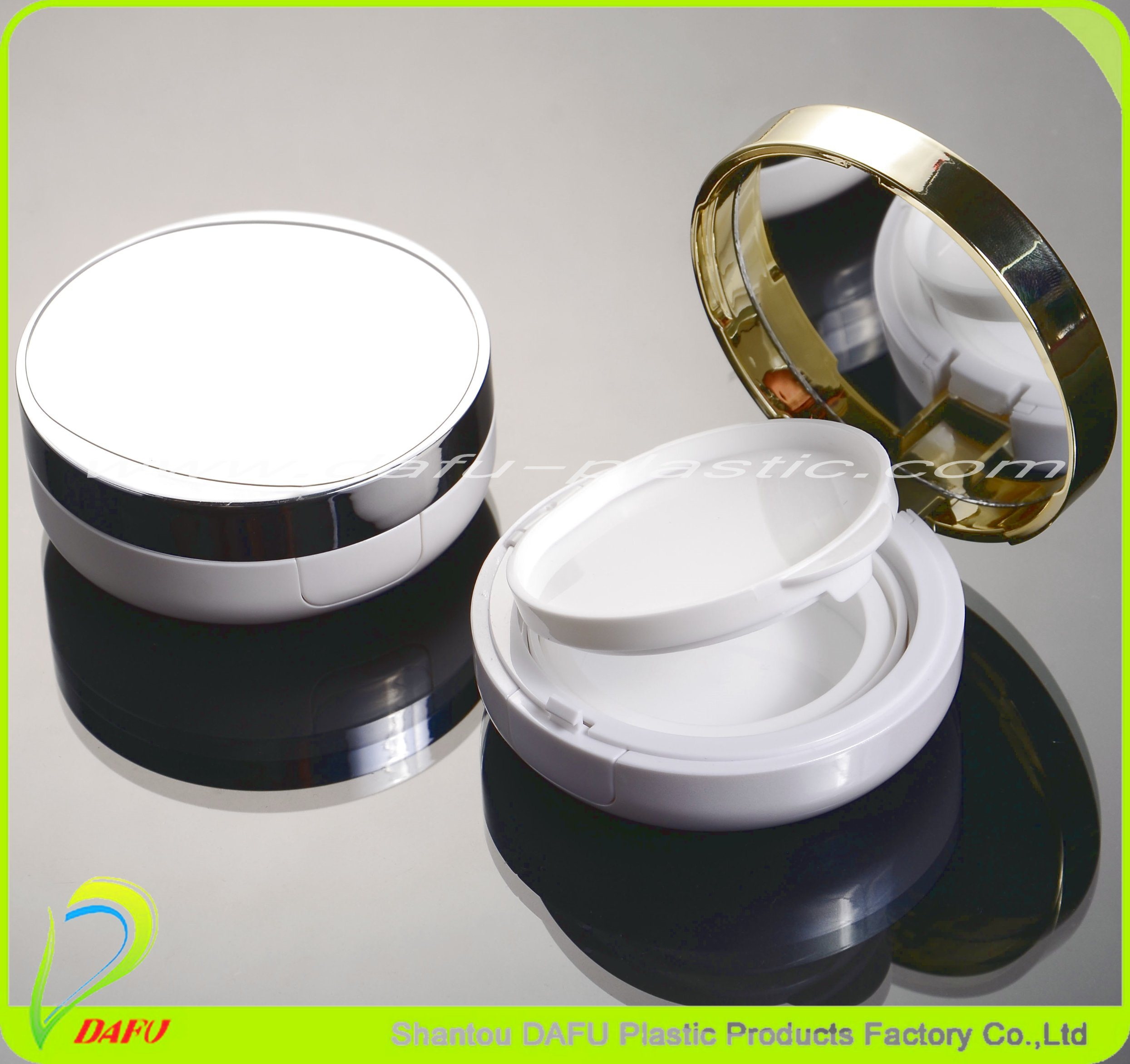 Plastic Products Cosmetics Packaging Compact Powder Case