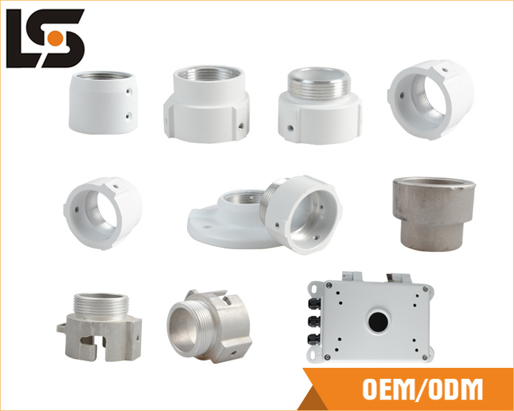 Aluminum Alloy Die Casting for Security Camera Parts (wall mounted bracket/camera housing)
