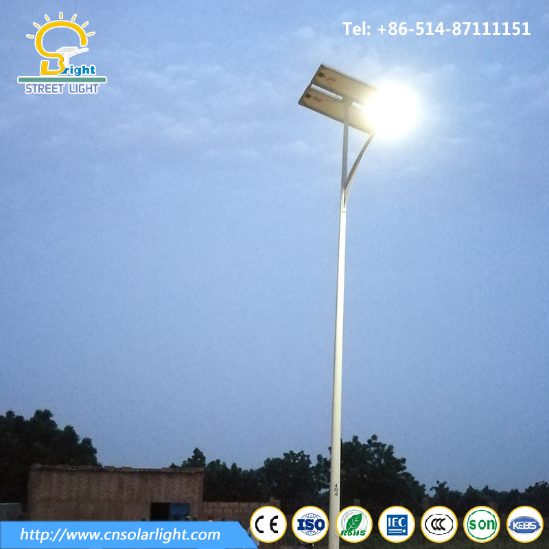 50W LED Solar Power Light with 8mtrs Light Pole