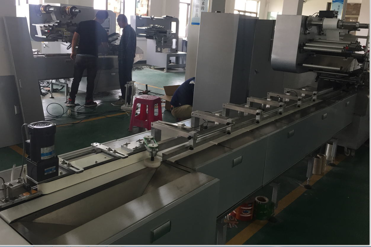 Automatic Feeding Pillow Packing Machine for Chocolate and Candy