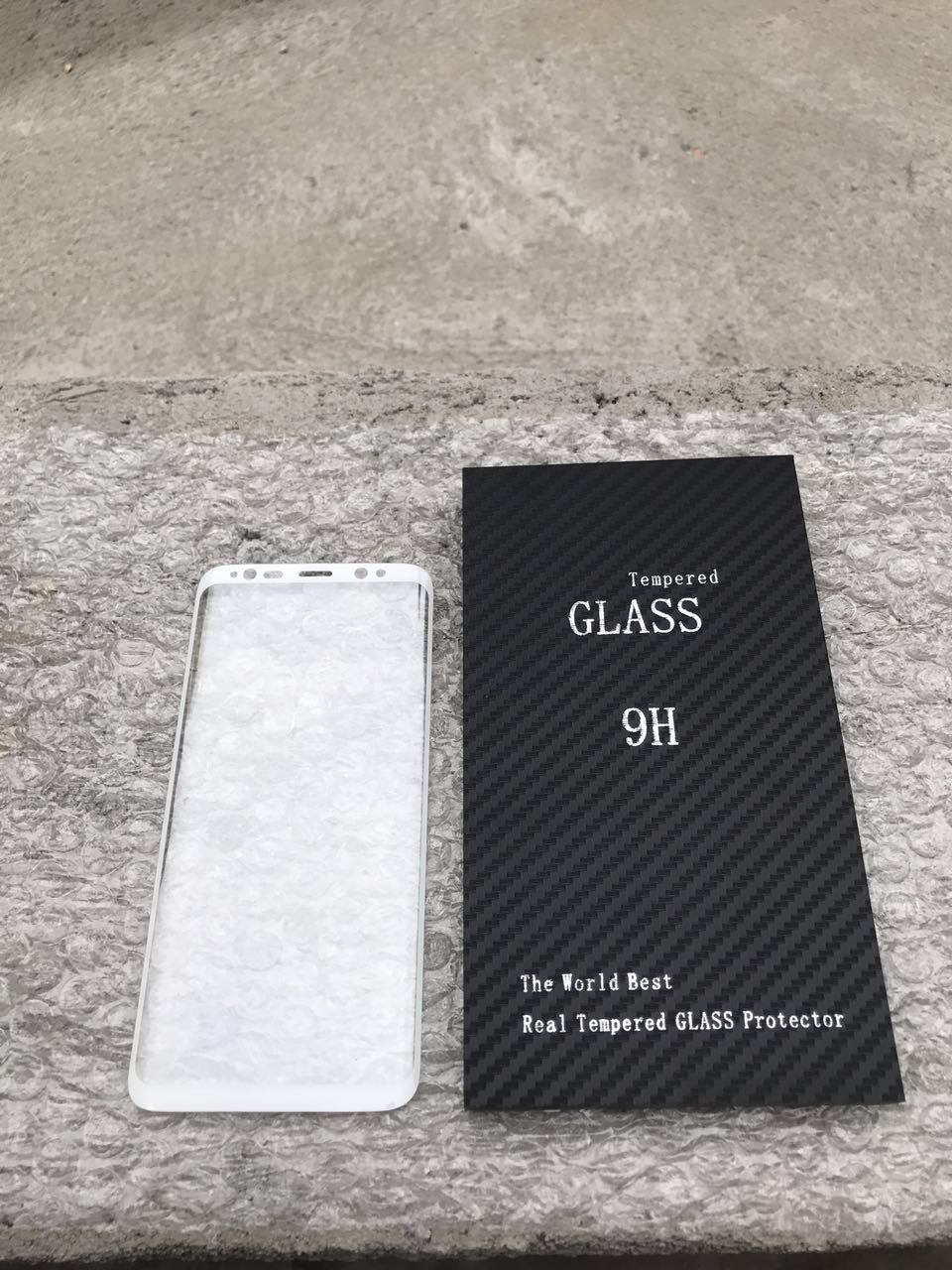 New Arrive 3D Curved Hot Bend Tempered Glass Screen Protector for Samsung Galaxy S8/S8edge
