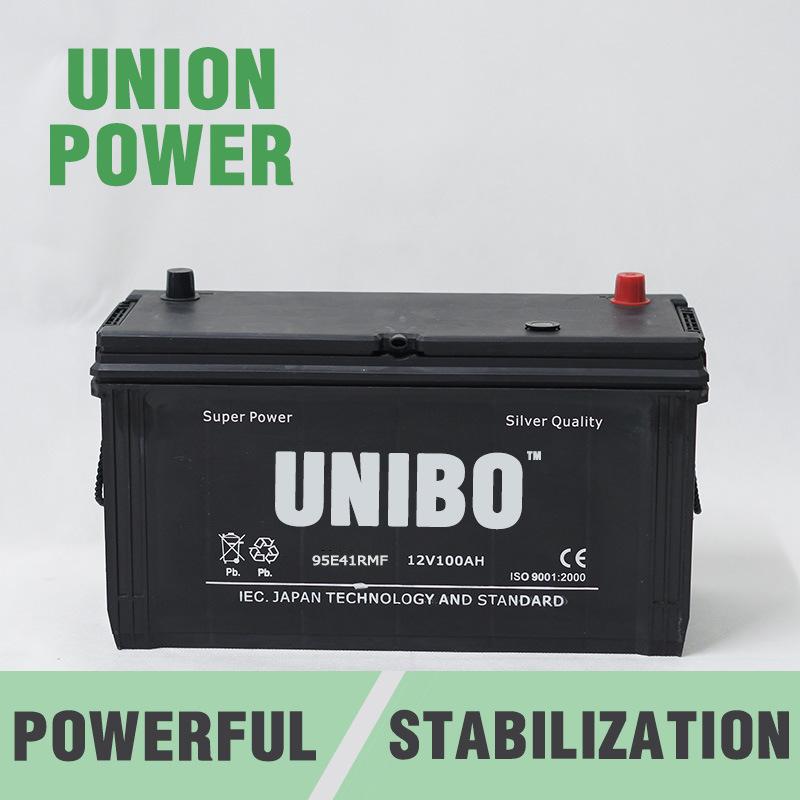 Truck Battery 95e41r 12V100ah High Performance Maintenance Free Car Battery