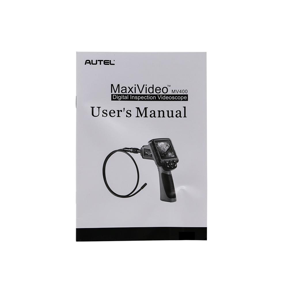 Autel Maxivideo Mv400 Digital Videoscope with 8.5mm Diameter Imager Head Inspection Camera