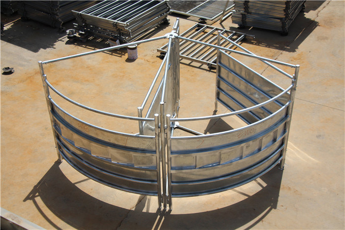 Hot Dipped Galvanized Cattle Corral Yard Panels