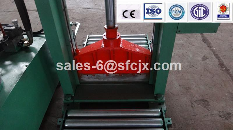 Single Blade Rubber Bale Cutter, Natural Rubber Cutting Machine