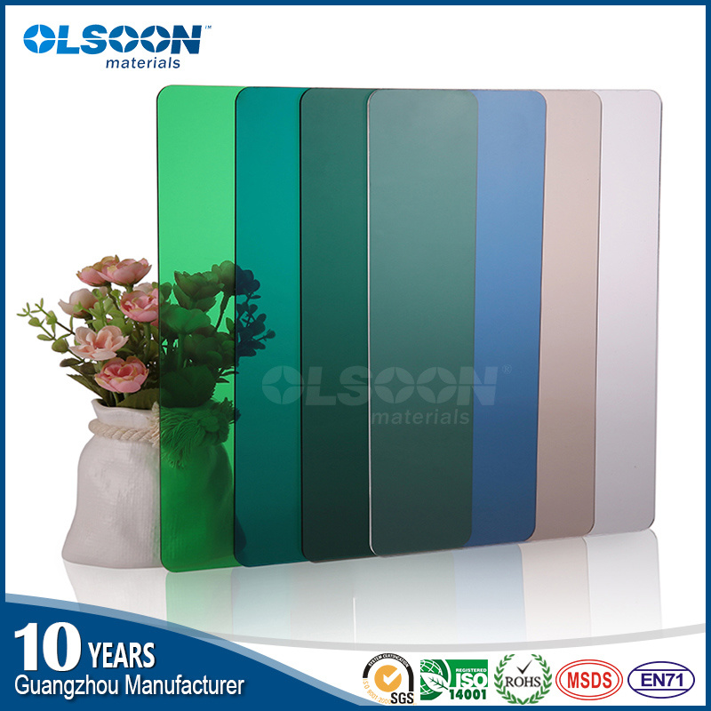 Olsoon High Quality 0.8-12mm Thickness Extruded Transparent Acrylic Plastic Sheet PMMA Sheet