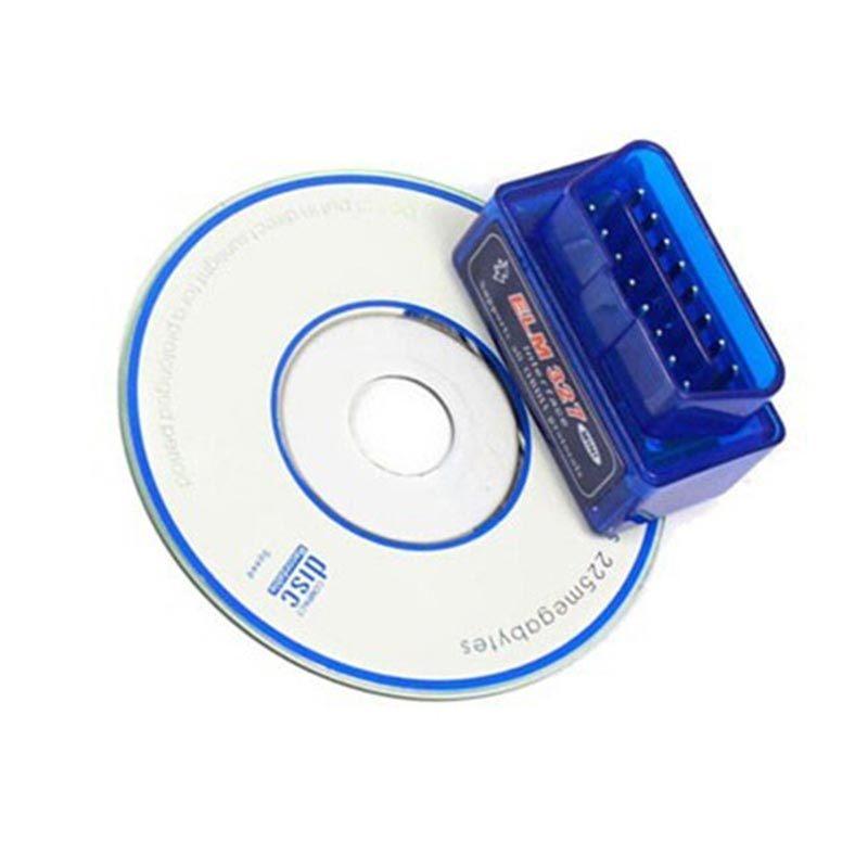 Mini Elm 327 Bluetooth OBD2 Digital Auto Scanner