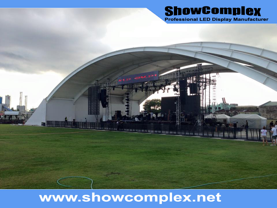 Super Light Weight of Outdoor Full Color Rental LED Display Panel (500mm*500mm P4.81)