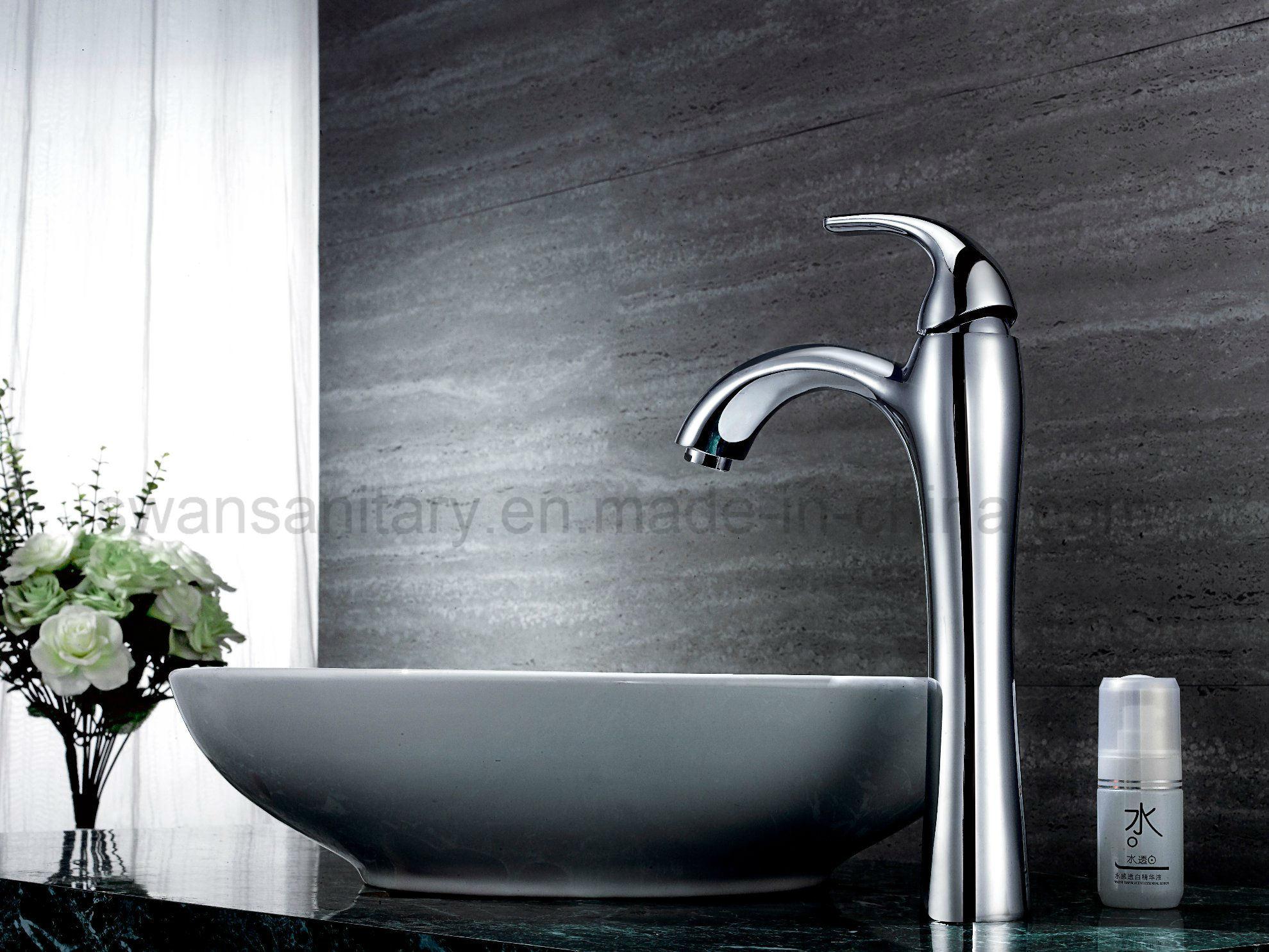 Single Lever Countertop Basin Faucet
