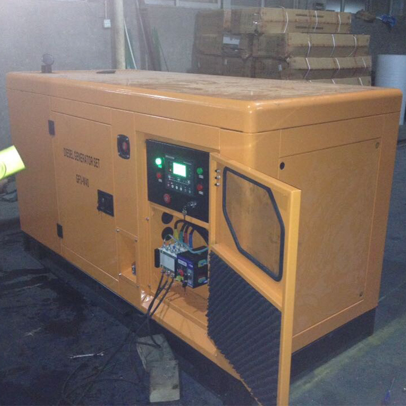 100kw Open Type Diesel Power Generator