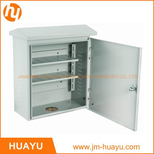 Weatherproof Sheet Metal Eletrical Box IP65 Metal Enclosure Optical Fiber Box