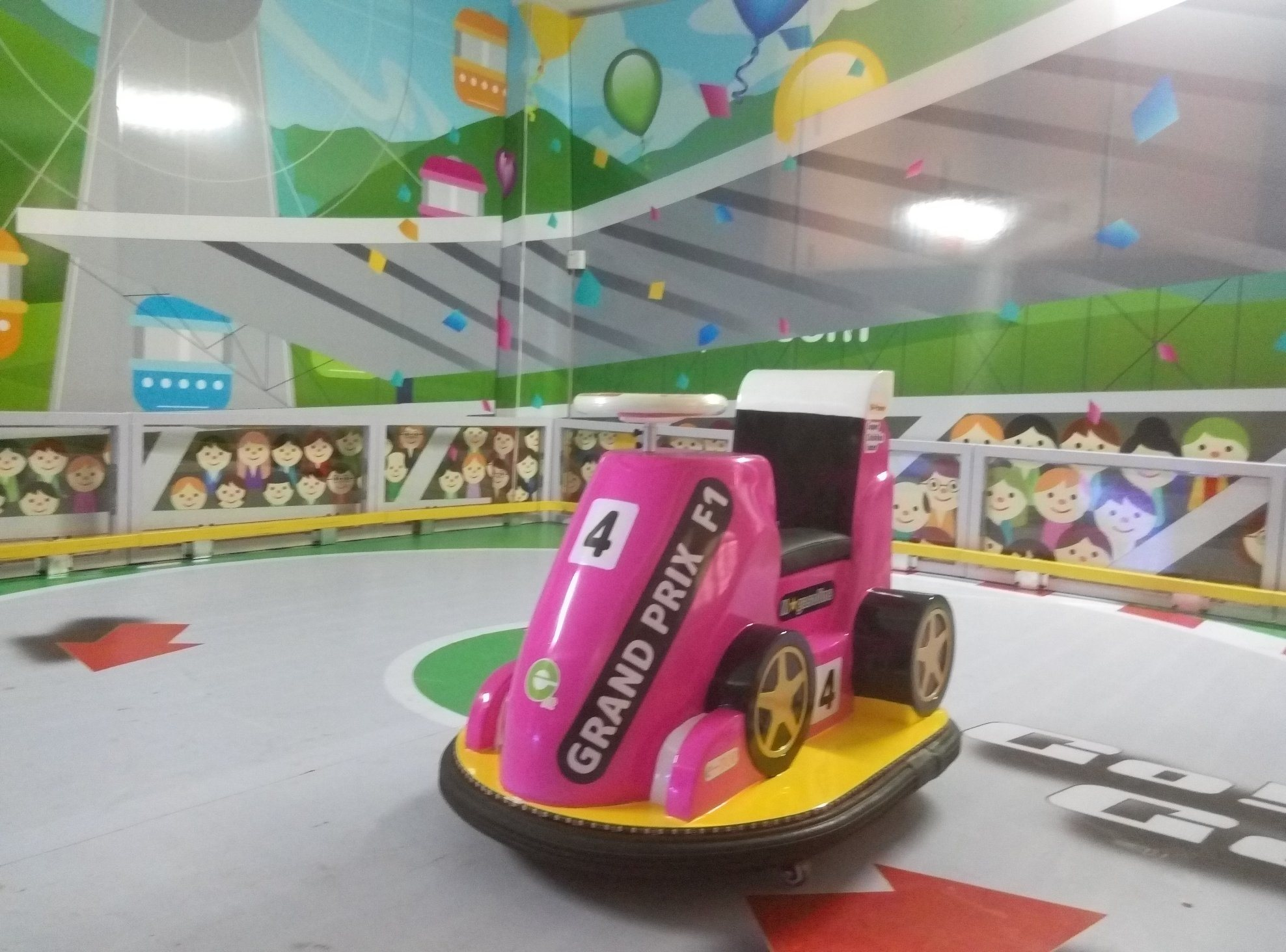 Good Quality Amusement Kiddie Bumper Ride
