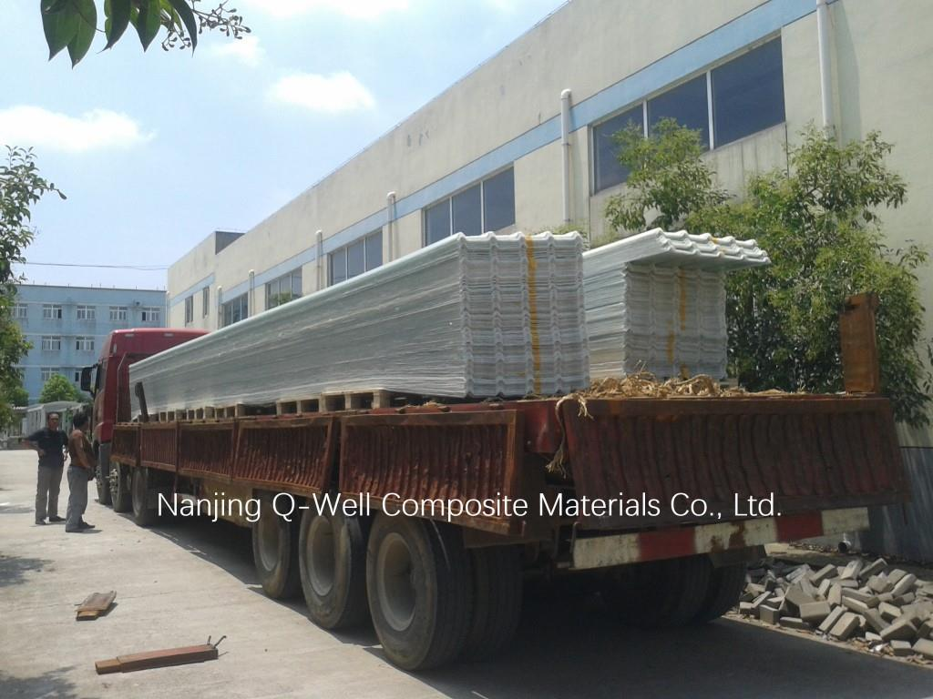 FRP Panel Corrugated Fiberglass/Fiber Glass Roofing Panels 171001