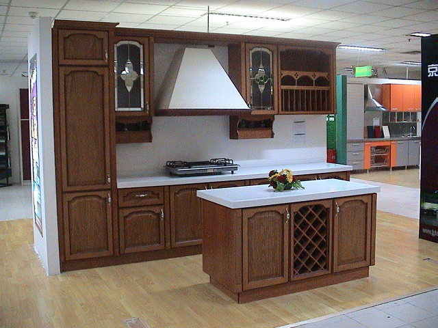China kitchen cabinet all wood china kitchen cabinet for All wood kitchen cabinets