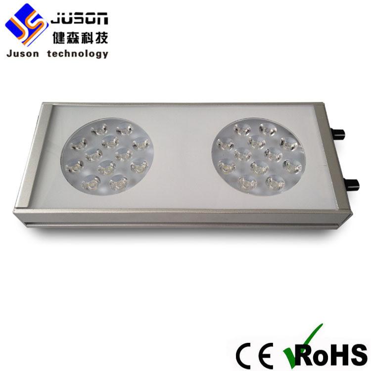 Black or Silver Aluminum 72W 40cm Marine Aquarium LED