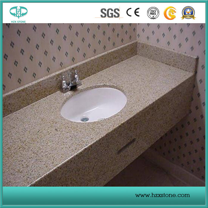 Misty/Rusty Yellow G682 Granite Paving Stone/Covering/Flooring/Paving/Tiles/Slabs Granite Countertops
