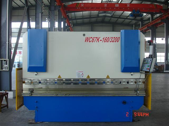 Hydraulic Press Brake Machine -Bending Machine (Wc67y-160/3200)