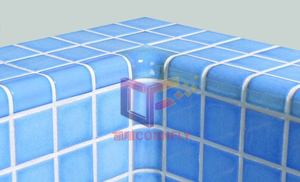 Bathroom Swimming Pool Ceramic Glass Mosaic Tile (CST122)
